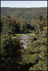 High tech PV system on lonely house in Black Forest, Germany (henrik.schwarz) Tags: schwarzwald wildbad sommerberg germany deutschland black forest pv system lonely house
