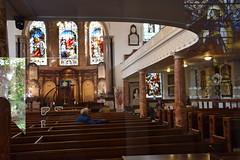 DSC_5433 John Wesleys Methodist Chapel City Road London Stained Glass Window (photographer695) Tags: john wesleys methodist chapel city road london stained glass window
