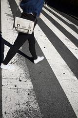 Urban geometry (T_Schildbach) Tags: urban city munich mnchen germany deutschland crosswalk feet street streetphotography ricohgr ricoh