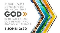 1 John 3:20 (joshtinpowers) Tags: john bible scripture