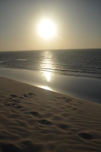 Duna do pôr do sol