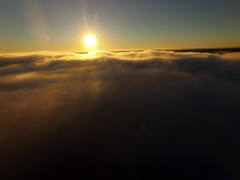 Above the fog (ABDKHemings) Tags: drone dji fog