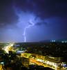 Who needs the lights tonight? (explored 28/11/2016) (joseee1985) Tags: lights night d750 nikon winter storm cityview 1835mm thunder thunderstorm 2016 cityscape citylights november16
