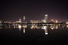 H (rayordanov) Tags: boston nightlights skyline charlesriver