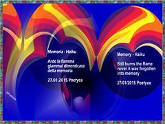 Memoria  Haiku (Poetyca) Tags: featured image haiku di poetyca poesia sfumature poetiche