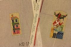 November 27 2016, Sunday (interchangeableparts) Tags: needlepoint kirkbradley toyshop toyshoppe adventcalendar windows