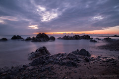 Porth Nobla Anglesey (M Turner Photography) Tags: lowlight sunset moving water sea anglesey beach nd8 canon 6d llens