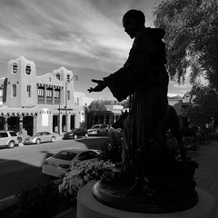 Santa Fe, NM (tmvissers) Tags: santafe newmexico stfrancis cathedral basilica assisi statue museum contemporary native arts
