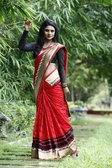 South Actress Deepika Das Traditional Photos Set-1 (18)