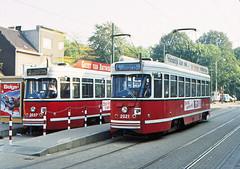Once upon a time - Belgium - Antwerpen / Anvers (railasia) Tags: belgium flanders antwerpen anvers miva metergauge routenº2 routenº4 motorcar pcc infra terminus2track eighties