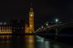 Big Ben at night (21mapple) Tags: bigben big ben outdoors outdoor outside old out politics westminster thames river riverthames lamp clock building england britain canon750d canon canoneos750d canoneos sigma parliment london long longexposure exposure