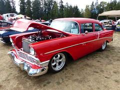 1956 Chevrolet (bballchico) Tags: 1956 chevrolet clarencesteineke arlingtoncarshow arlingtondragstripreunionandcarshow carshow 1950s 206 washingtonstate arlingtonwashington