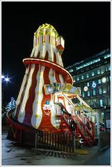 Helter Skelter (Ben.Allison36) Tags: helter skelter george square glasgow christmas lights scotland night shot hand held