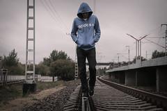 loneliness man on railway (lechenie-narkomanii) Tags: railway addiction alcoholism loneliness man sorrow kazan tatarstan russia