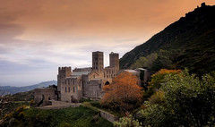 Monestary Sant Pere de Rodes at Costa Brava in Spain (JRJ.) Tags: spain spania monestary catalonia nature history landmark gerona figueres