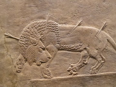 Dying Lion (Aidan McRae Thomson) Tags: nineveh relief britishmuseum london assyrian sculpture mesopotamia ancient