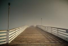 Take a long walk... (peaflockster) Tags: california sandiego waterfront fog atmospheric pier