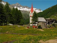 Die Heilig-Geist-Kapelle im Ahrntal -  Südtirol (Ostseetroll) Tags: ahrntal geo:lat=4705317158 geo:lon=1213994568 geotagged ita italien kasern valleaurina heiliggeistkapelle holyspiritchapel südtirolaltoadige