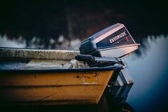 Engine (jarnasen) Tags: d810 nikon sigma105mmf28 freehand handheld dof depthoffield shallow boat engine evinrude water vignette color sweden sverige kindakanal stergtland copyright jrnsen jarnasen