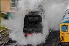 Swanage Railway (Matt_Rayner) Tags: swanage railway steam locomotive train sr 462 battle britain class 34070 manston