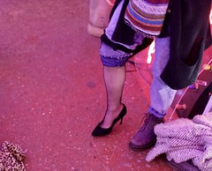 Shoot (Samer Farha) Tags: photoshoot heels fishnets godsownjunkyard london walthamstow neon