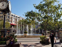 Fountain in CA (Dragonia DeCuir Dragon Magick Wares) Tags: california galleria