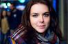 Gran Vía, luces y ojazos (trarsi) Tags: madrid portrait eyes spain street retrato girl woman colors