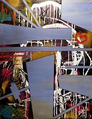 """Tavla """"Missing pieces"""" (Magnus Dacke) Tags: magnus mad dacke duk canvas art konst acrylic akryl missing saknad bitar pieces tavla konstnär abstract abstrakt hässleholm sverige sweden 2016"""