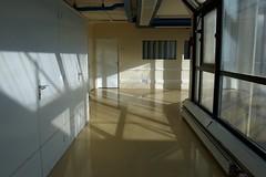 sun2 (lux fecit) Tags: paris saintlouis hospital sun corridor light walls windows
