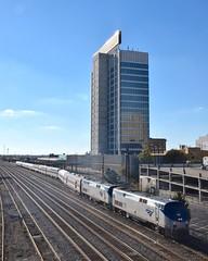 Amtrak Crescent (esywlkr) Tags: train crescent amtrak amtrak20 alabama birmingham passengertrain urban cityscape