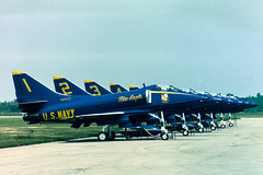 Blue Angels A-4 (BRB1952) Tags: ypsilanti airshow blueangels willowrunairport michigan