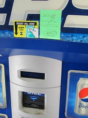 150829-2116 Burlington (WashuOtaku) Tags: burlington northcarolina vendingmachine pepsi restarea i40 i85 alamancecounty canonpowershots90