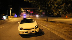 Pedestrian Struck By Vehicle (bcfiretrucks) Tags: street canada broken window glass night vancouver bc crash accident victim police scene columbia ambulance crime burnaby british smashed cry incident boundary paramedic department officer collision