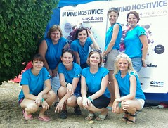 """The girls of In vino Hostivice • <a style=""""font-size:0.8em;"""" href=""""http://www.flickr.com/photos/123912449@N05/21115236508/"""" target=""""_blank"""">View on Flickr</a>"""