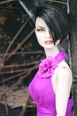Davoux wears Sheer Sensuality (aruam) Tags: fashion jon ooak agnes royalty copeland repaint