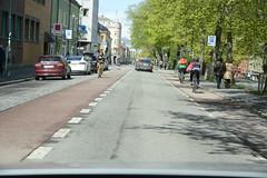 Sykkelfelt Kjpmannsgt. 0598 (Miljpakken) Tags: trondheim rdt sykling bymilj gatemilj miljpakken syklister bygate bytransport bytrafikk miljopakken sykkelveg sykkelanlegg bysykling