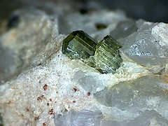 15091817363230119578 (Violet Planet) Tags: green rocks crystal stones minerals geology tourmaline elbaite mineralogy verdelite