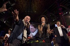 Jose Andres and Carla Hall Unveil the Secret Ingredient for the 2013 Competition (DC Central Kitchen) Tags: joseandres carlahall capitalfoodfight