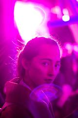 The Light. (Dexter Storey) Tags: pink light party contrast model flare 365 conceptual sense
