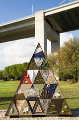 Painel Japones (Eyrie man) Tags: streetart art lisbon urbanart parquedasnacoes