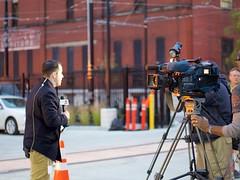 Capturing History (Travis Estell) Tags: ohio cincinnati onlocation overtherhine newscaster localnews fox19 wxix
