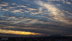 Clouds Frenzy. (TheTomL3) Tags: sunset sky espaa cloud clouds canon atardecer eos spain europe cielo nubes nube elx elche 600d canoneos600d