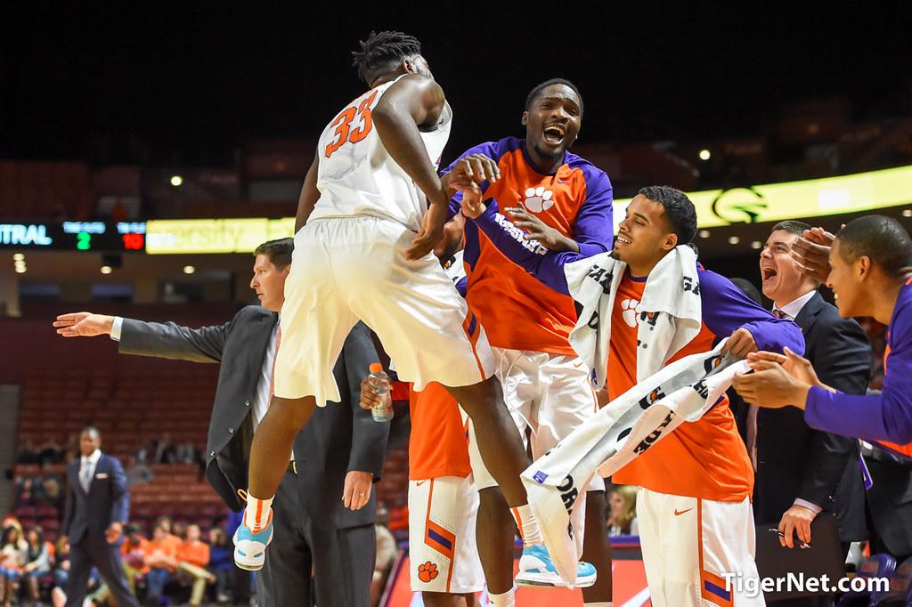 Clemson Photos: Josh  Smith, Landry  Nnoko, 2015, Basketball