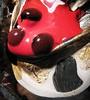 Ladybug Melt (Sea Moon) Tags: macro film paint dried magnet ballbearings ferrofluid
