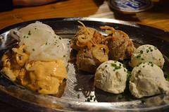 MUN_Augustiner_am_Dom_02 (chiang_benjamin) Tags: autumn fall dinner germany munich bayern deutschland bavaria spread restaurant tour oktoberfest lufthansa sauces muchen augustineramdom