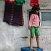 Little Girl on Jerrycan, Mumbai