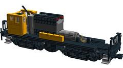 English Electric 800 Class Locomotive (RS 1990) Tags: train lego loco locomotive ideas moc ldd englishelectric cuusoo digitaldesigner 800class