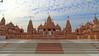 Swaminarayan Temple, Poicha (rohangandhi19) Tags: religious temple mandir cloudysky hindutemple vadodara swaminarayantemple templearchitecture indiantemples rajpipla sonydschx400v poicha rohangandhiphotography