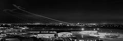 Statistical Mean (josesuro) Tags: longexposure bw night digital tampa tampabay florida aviation 2015 afsnikkor28mmf18g jaspcphotography nikond750