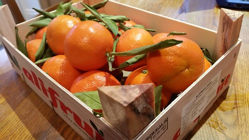 Delicious Clementines from Murcia.